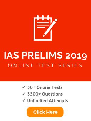 UPSC IAS Prelims 2019 : Online Test Series