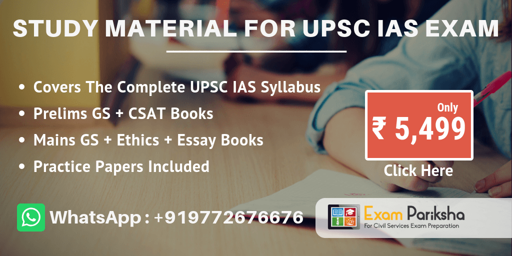 Study Material for UPSC IAS Prelims and Mains