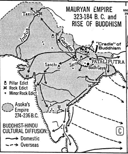 mauryan rulers- history study material u0026amp; notes