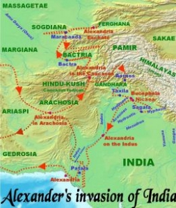 Alexander's Invasion of India