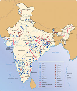 minerals in india
