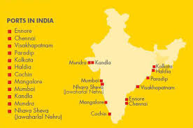 list of major ports in India