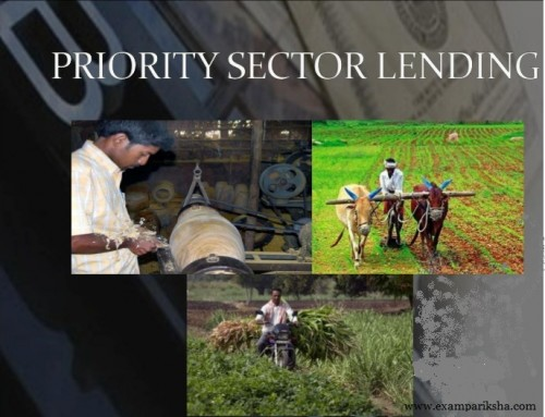 Priority Sector Lending – Banking Study Material & Notes
