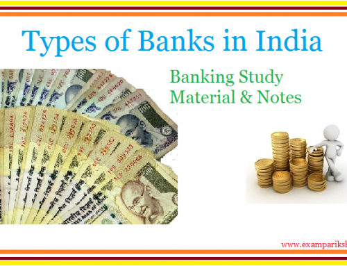 Types of Banks and Their Functions – Banking Study Material & Notes