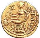 Gupta Empire_Dynasty chandraguptaII coin
