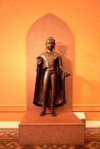 Gupta period sculpture Sultanganj-Buddha