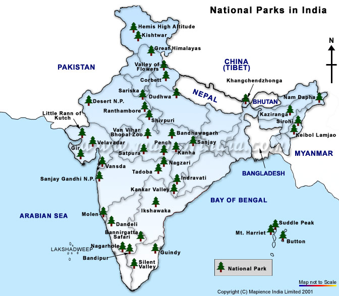 List of National Parks in India  General Awareness Study Material