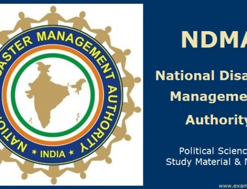 National Disaster Management Authority (NDMA) – Political Science Study Material & Notes