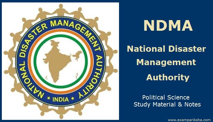National Disaster Management Authority NDMA