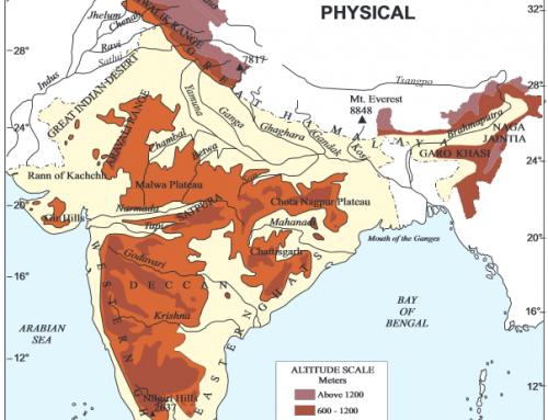 Physiography of India – Geography Study Material & Notes