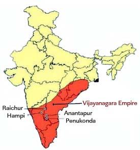 Vijayanagara Map