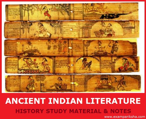 ancient indian literature history study material & notes