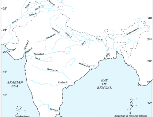 Rivers of India – Geography Study Material & Notes