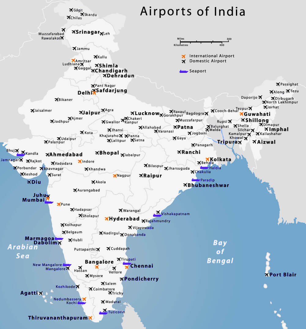 Airports in India