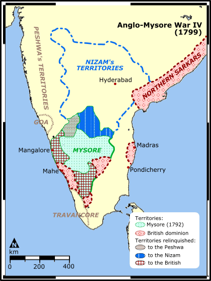 Fourth Anglo mysore wars
