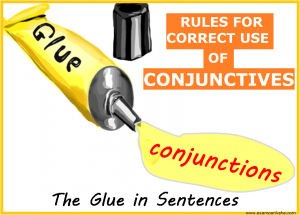 Rules for Conjunctions - English Study Material & Notes