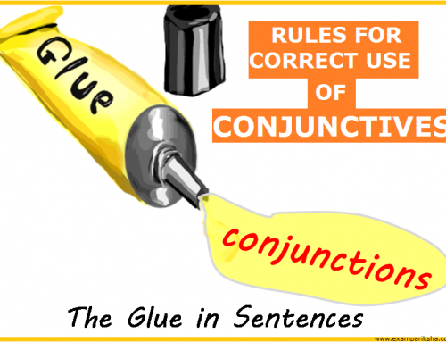 Rules for Conjunctions – English Study Material & Notes