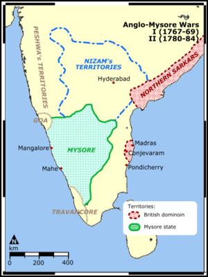 Anglo Mysore Wars - History Study Material & Notes on delhi map, mangalore map, karnataka map, biratnagar map, munnar map, dhar city map, anjuna beach map, bombay map, madras map, agumbe map, bengal map, hyderabad map, satpura map, bangalore map, kerala map, kashmir map, india map, tamil nadu map, chennai international airport map, calcutta world map,