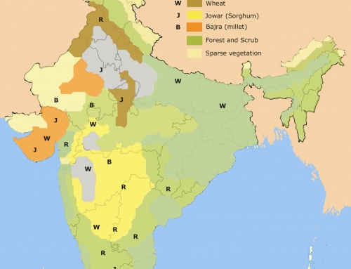 Crops in India – Geography Study Material & Notes