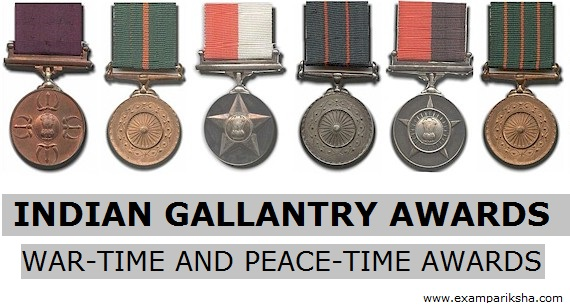 gallantry awards in india