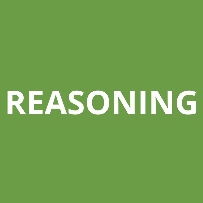 reasoning study material