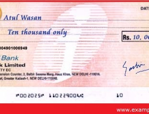 Crossing of Cheques – Banking Study Material & Notes