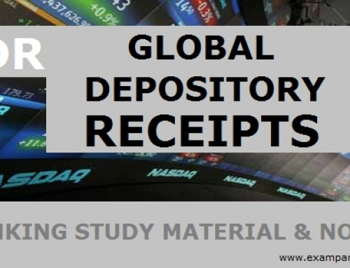 Global Depository Receipt (GDR) – Banking Study Material & Notes