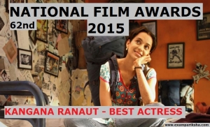 List of National Film Award Winners 2015 - 62nd National Awards