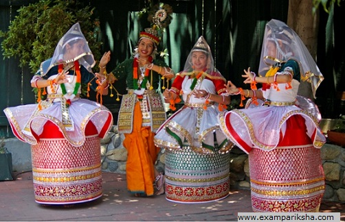 Manipuri Dance - Indian classical dance study material & notes