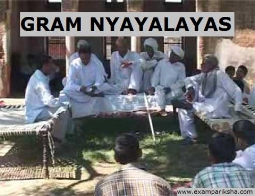 Gram Nyayalayas – Political Science Study Material & Notes