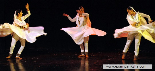 kathak dance - Indian classical dance study material & notes