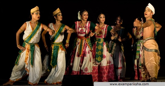 sattriya dance - Indian classical dance study material & notes