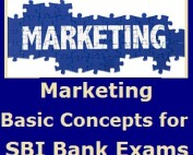 Basic Concepts of Marketing - Banking Study Material & Notes