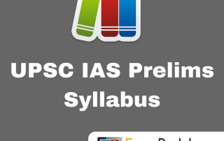 UPSC IAS Civil Services Prelims Syllabus