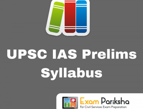 UPSC Civil Services Preliminary (CSP) Exam Syllabus : Download PDF