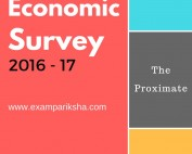 Economic Survey 2016-17 introduction important highlights for ias pre 2017