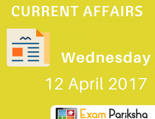 "12 April 2017 Current Affairs : Kerala Malayalam mandatory, ""Nakshe"" portal, Nomadic Elephant"