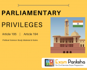 Parliamentary Privileges of Legislators in India