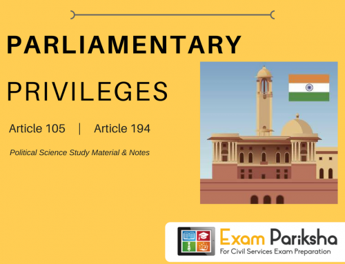Parliamentary Privileges of Legislators in India : Breach of Privilege