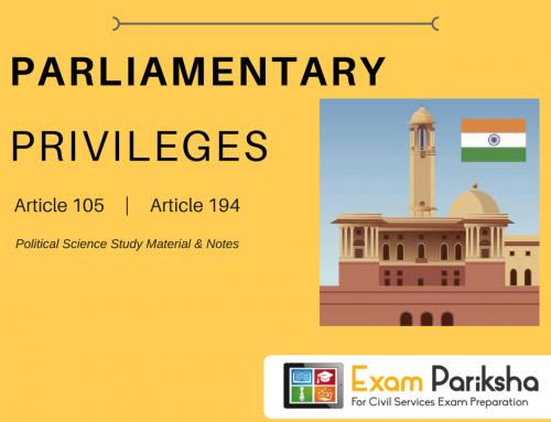 Parliamentary Privileges of Legislators in India : Breach of Privilege