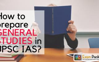 How to prepare GENERAL STUDIES in UPSC_