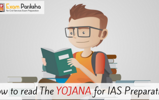 How to read The Yojana for IAS Preparation