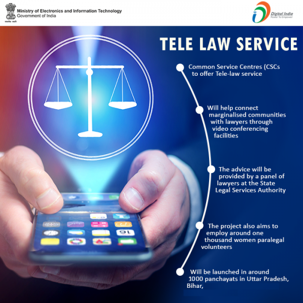 Tele Law Scheme to assist rural India