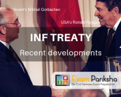 About the Intermediate- Range Nuclear Forces (INF) Treaty : recent developments